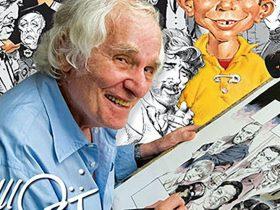 آرتیست افسانهایِ «مجلهِ مَد» (Mad Magazine) یعنی آقای «مُرت دراکِر» (Mort Drucker) در سن 91 سالگی درگذشت