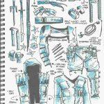 از اولین تصاویر و طراحیهای کمیک TMNT:The Last Ronin رونمایی شد