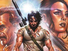 کیانو ریوز نویسنده کمیک میشود! | کمیک BRZRKR با قلم Keanu Reeves