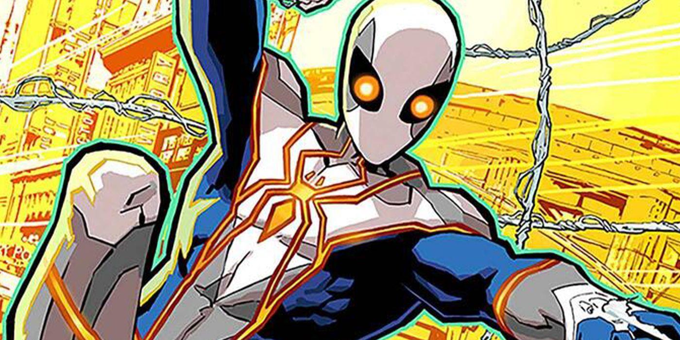 از لباس جدید مرد عنکبوتی رونمایی شد