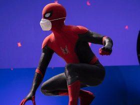 ظاهر لباس جدید اسپایدرمن در سومین فیلم Spider-Man در MCU لو رفت