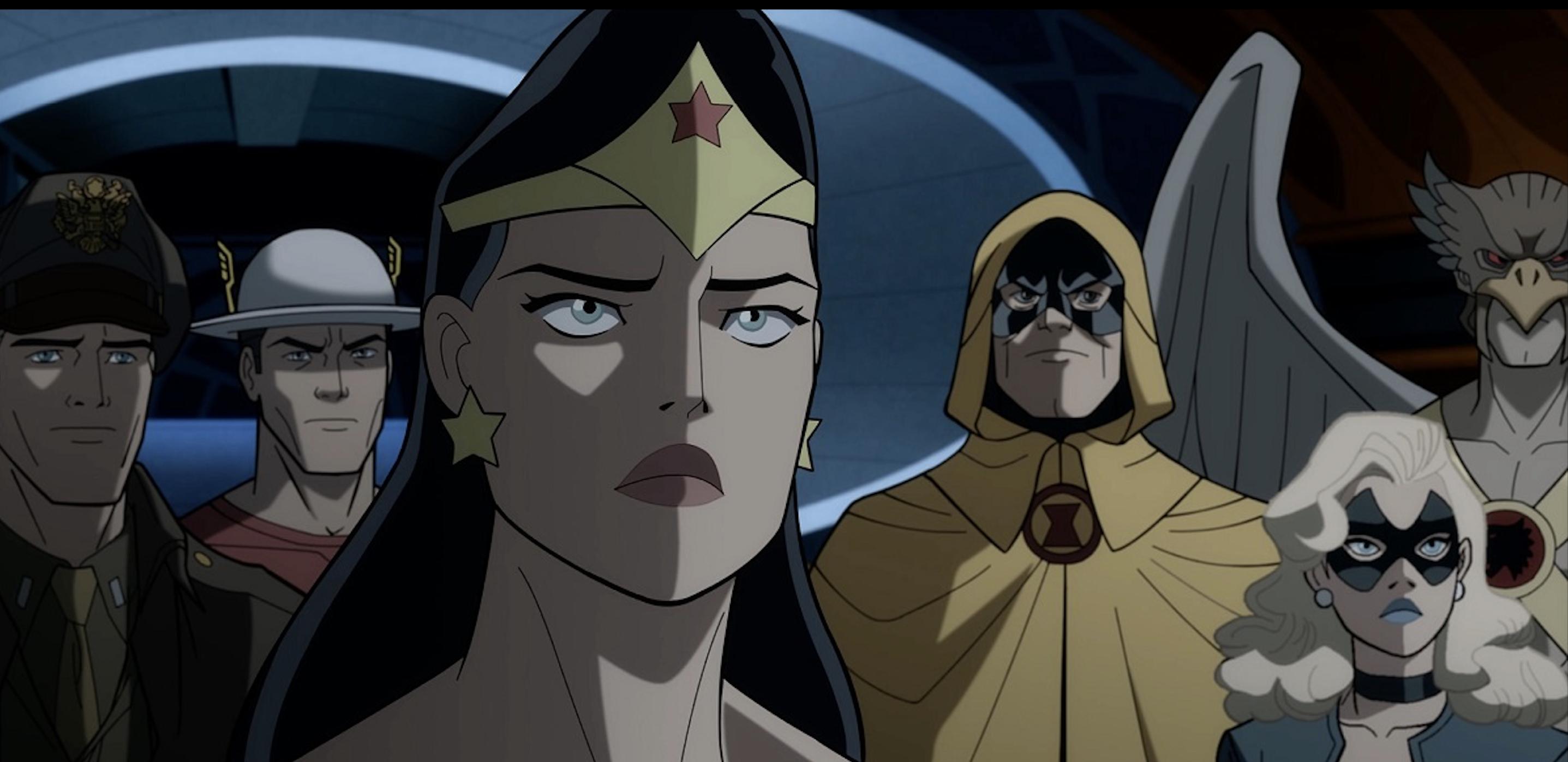 نقد و بررسی انیمیشن Justice Society: World War II