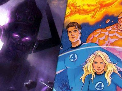 فیلم Eternals چگونه Galactus و Fantastic Four را به تصویر میکشد