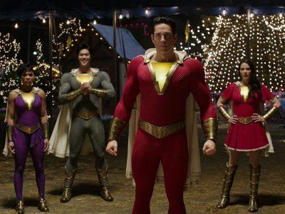 از لباسهای شخصیتهای Shazam 2 رونمایی شد